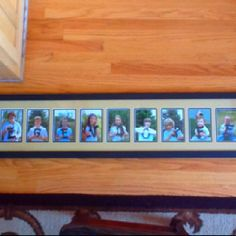 Mothers day gift for Grandma using all the grandkids to spell out the family name. She loved it!