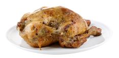 Slow Cooker Chicken (Whole) - EASY to put on in the Morning!  www.GetCrocked.com