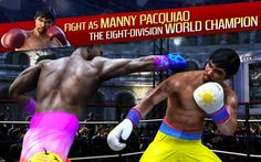 Real Boxing Manny PacquiaoAt last the players can become the legendary fighter and take on the boxing world in Real Boxing® Manny Pacquiao!