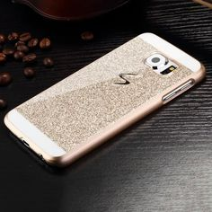 New style glitter powder bling Hard Plastic back cover Luxury fashion Sparkle Personality Logo Phone case for Samsung Galaxy S6 #>=#>=#>=#>=#> Click on the pin to check out discount price, color, size, shipping, etc. Save and like it!