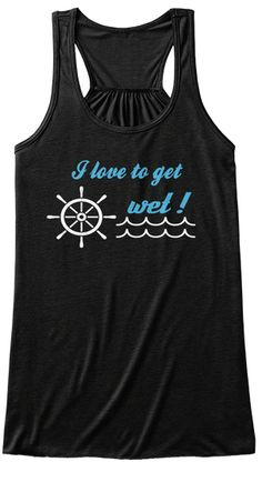 If you love to do any type of Water Sport or activity that involves getting wet on a hot day, you need this shirt. This Tank Top is not available in stores ! Be the first of your friends to wear one !
