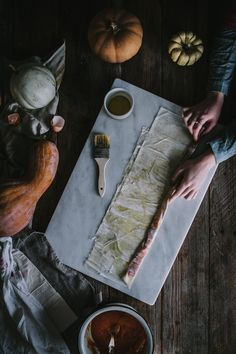 Winter Squash Filo Spiral by Eva Kosmas Flores | Adventures in Cooking