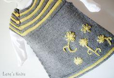 Little Aga's Dress / Sukienka dla małej Agi - Lete's Knits PL