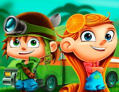 "Check out new work on my @Behance portfolio: ""Fruit Rangers"" http://on.be.net/1Jnz4CS"