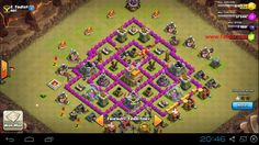 Pertahanan War basse TH 7 Kuat - Tips Trik Android