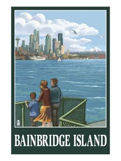 Bainbridge Island, WA - Ferry and Seattle-another possibility for over the twin bed