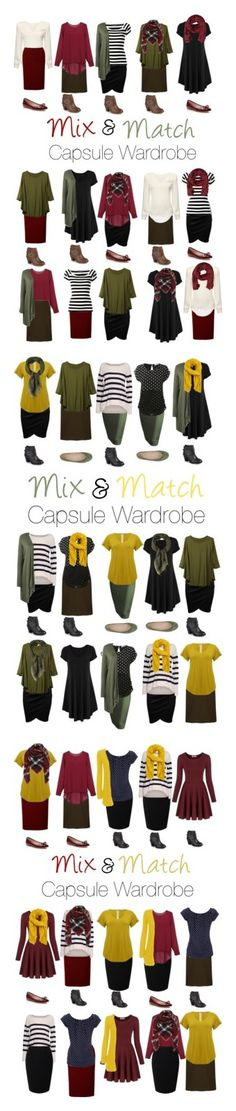 Capsule Wardrobe: Autumn 2016 by mary-grace-see on Polyvore featuring polyvore fashion style Dolce&Gabbana WearAll Kate Spade MANGO Journee Collection clothing plus size clothing LE3NO Velvet by Graham & Spencer M&Co Mountain Khakis Paolo Simonini Chicnova Fashion Jacques Vert Wallis autumn capsulewardrobe autumn2016