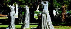 Anna Eggert 'Belinda's Wedding'   Stainless Steel Woven Mesh