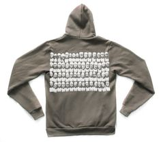 Unisex Zip Front Hoodie in Pewter feat Phrenology by JamesAnthony - StyleSays Sweater Sale, Hoodies, Sweatshirts, Pewter, Must Haves, Fashion Inspiration, Unisex, Zip, Sweaters