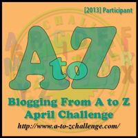 A-Z blogging challenge The possible posts to expect from Family Bugs Blogging in April