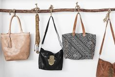 When you don't know which Zoco Home handbag you should wear today.
