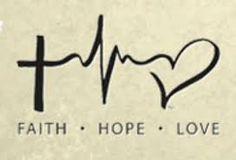 Bildresultat för faith hope love symbol tattoo More