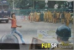 Funny Police - Strike beats up them in India!