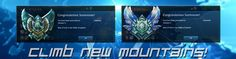 Climb new mountains in League of Legends. Use our elo boosting service!