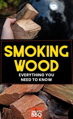 In this guide to smoking wood we will cover just about everything you need to know about using wood for smoking. We'll even debunk a few common myths that even veteran barbecue competitors fall for. Smoker Cooking, Fire Cooking, Cooking Tips, Outdoor Cooking, Wood For Smoking Meat, Wood Smokers, Bbq Appetizers, Smoke Grill