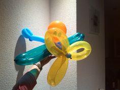 ballon vliegtuigje