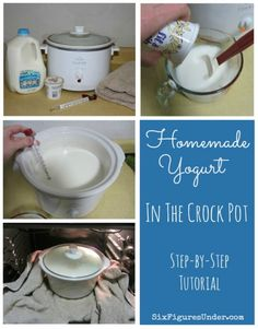 How to make yogurt by the gallon in your crock pot, why you would want to, and what to do with it!