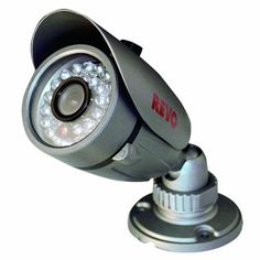 Revo America 600 TVL Bullet 30IR 80' Night Vision Quick Connect 3.6mm Fixed Lens Indoor/Outdoor Camera