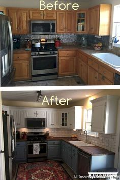 Cheap small kitchen remodel ideas 0039 #kitchenmakeovers