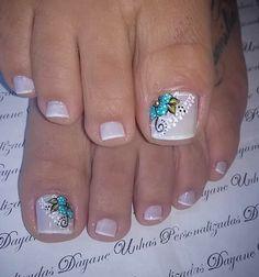 Magic Nails, Wedding Preparation, Dali, Toe Nails, Pedicure, Nail Art Designs, Beauty, Pretty Pedicures, Toe Nail Designs