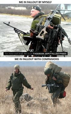 Everything Fallout has members. Fallout 4 Funny, Fallout Facts, Fallout 4 Mods, Fallout New Vegas, Fallout Quotes, Fallout Comics, Video Game Memes, Video Games Funny, Funny Games