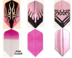 #6033 Pink Dart Matching Slim Shape AmeriThon Six Pack Flight Assortment by Amerithon SixPacks. $9.00. Part of the Ameri-Thon family of dart flight products, including the World's Only Fully Digital Custom Dart Flights. Also see our listings for Assortment Packs and Bulk Flight Packs.. Save 25% Off!