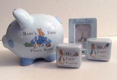 Beatrix Potter Peter Rabbit Baby's First Piggy Bank Frederick Warne & Co 2004    eBay