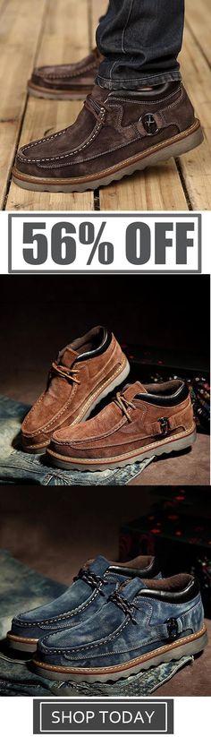 8c962d03fb6bb Clarks Originals Weaver Boots. See more. Mens British Casual Retro Leather  Flat Shoes