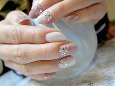 gradation nail exquisite