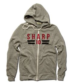 Patrick Sharp Licensed NHLPA Chicago Men's ZIP Hoodie S-2XL Sharp Font