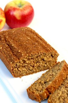 Apple bread made healthier without sacrificing flavor or texture. No flour needed, sweetened with honey, and loaded with fresh apples, it's quick to make and tastes so great! So many of you have fallen in love with my Healthy 5-Ingredient Flourless Banana Bread,Healthy Flourless Pumpkin Breadand 4-Ingredient Flourless Chocolate Chip Banana Bread recipes with several...