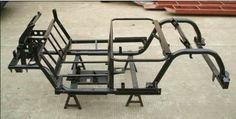 2 seats golf cart's frame