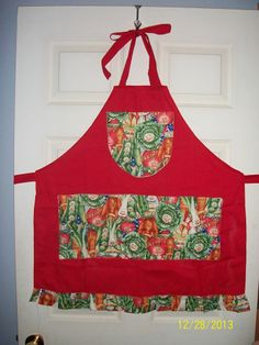 Cute Veggies Apron made by Fried Green Aprons