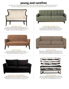 Our modern Ian sofa is named a top choice for every budget in @Real Simple  (p2)