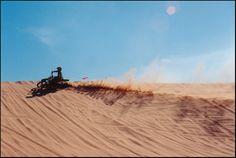 Oklahoma desert - Little Sahara State Park.