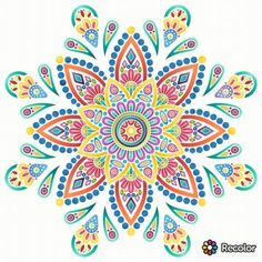Mandala Painting, Mandala Drawing, Dot Painting, Wall Drawing, Art Drawings, Wall Art Designs, Design Art, Mandala Coloring Pages, Hippie Art