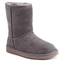 Koolaburra by UGG Classic Short Women's Winter Boots, Purple Oth