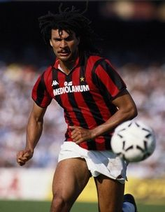 Ruud Gullit (Milan 1987-88: his first and successful Italian championship)