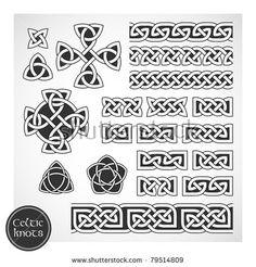Celtic knots. Vector illustration.
