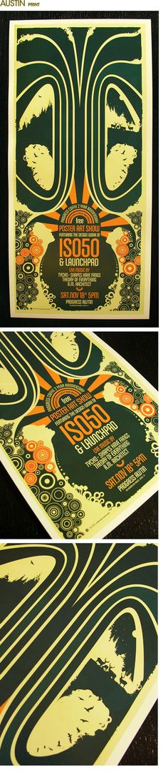 Illustration, typography, texture & colour combinations that works! By Scott Hansen