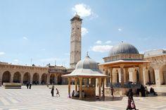 In de oude moskee van Aleppo. Foto: Marco in 't Veldt