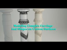 Modeling Complex Carvings and Shapes on Uneven Surfaces in Max - Computer Graphics & Digital Art Community for Artist: Job, Tutorial, Art, Concept Art, Portfolio Modeling Tips, 3d Tutorial, 3d Max, Community Art, Zbrush, Art Tutorials, The Help, Concept Art, Surface