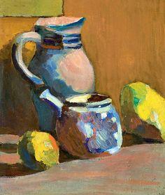 Andre Derain(1880-1954) Nature morte au pot bleu