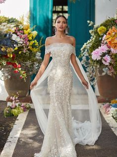 Fit And Flare Wedding Dress, Fall Wedding Dresses, Perfect Wedding Dress, Designer Wedding Dresses, Bridal Dresses, Wedding Gowns, Bridal Bouquets, Couture Wedding Dresses, Spring Wedding