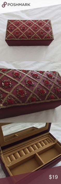 Brand New Bohemian World Marker Jewelry Box Brand new. Perfect condition. From World Market, not UO. Urban Outfitters Accessories