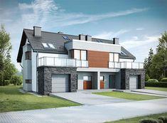 Modern House Design, Home Fashion, Ideas Para, Mansions, House Styles, Home Decor, Modern, Home Layouts, Projects
