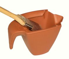"""Paint Without the Worry"" Big Boy Ind 5200 Dripless Hand-Held Cut-in Pail"