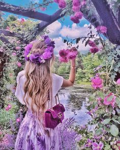 Lila Luxusästhetik - just luxux Lovely Girl Image, Cute Girl Pic, Cute Photography, Portrait Photography, Girly Pictures, Beautiful Pictures, Looks Chic, Stylish Girl, Flower Power