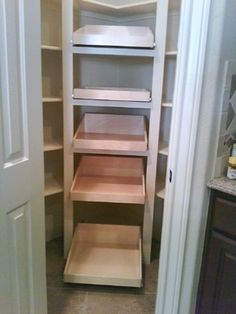 Corner Pantry Design Ideas, Pictures, Remodel, and Decor - page 6