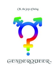 Image detail for -genderqueer # lgbtq # symbol # queer Gender Binary, Pansexual Pride, Genderqueer, Pinterest Projects, Androgyny, Transgender, Equality, Lgbt, Joy